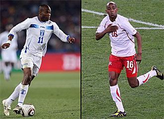 Suazo, de Honduras, y Fernandes, de Suiza