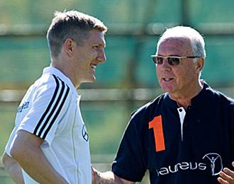 Beckenbauer ve favorita a Alemania.