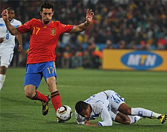 Arbeloa debut� en un Mundial contra Honduras