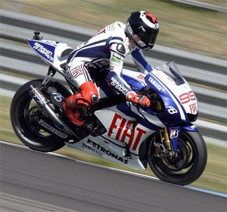 Lorenzo ha sido el piloto más rápido y constante en lo que va de fin de semana