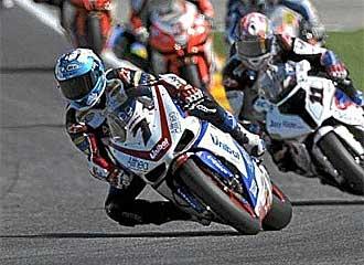Carlos Checa aspira a la victoria en Misano.