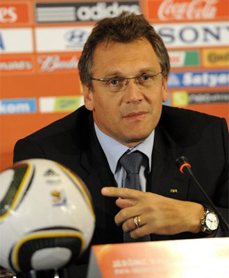 Jerome Valcke, secretario general de la FIFA.