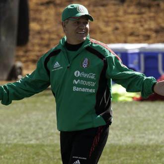 Aguirre confía en las posibilidades de los suyos