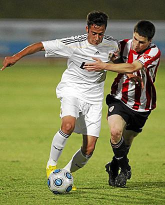 El equipo juvenil del Athletic se mostró superior y más acertado de cara a puerta al Real Madrid