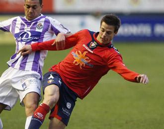C�sar Azpilicueta en un momento de la temporada pasada con Osasuna