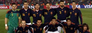 El once de Espa�a ante Chile