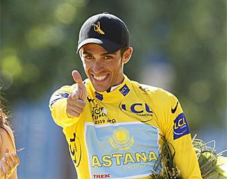 Contador quiere volver a sacar la pistola en Par�s.