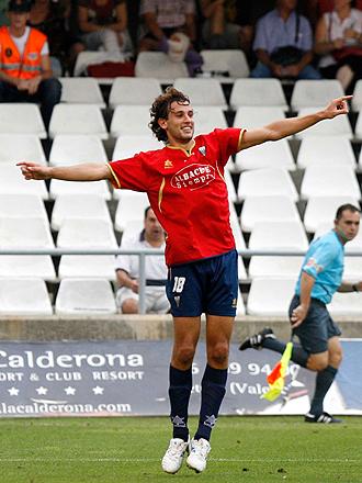 El Albacete quiere una nueva cesión de Stuani por parte de la Reggina y que el uruguayo siga celebrando goles en el Carlos Belmonte