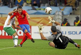 Villa est� haciendo un Mundial inmejorable