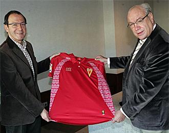 El alcalde de Murcia y Jes�s Samper