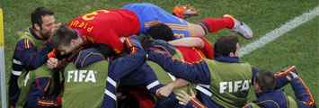 Espa�a 1-0 Portugal