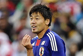 Matsui, en el partido contra Paraguay
