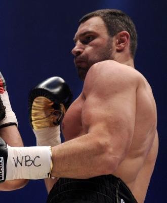 Vitali Klitschko, en una pelea.