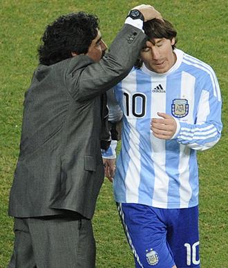 Messi a�n no ha marcado ning�n gol, pero es el que m�s veces ha rematado a puerta.