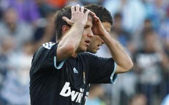 Van der Vaart con el Real Madrid
