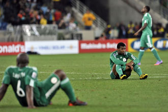 La FIFA estudia el caso de Nigeria