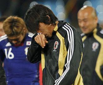 Nakamura se retira triste tras la eliminación nipona