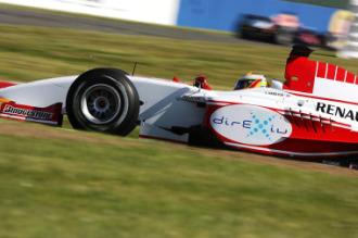 Hamilton, durante el Gran Premio de San Marino de 2006