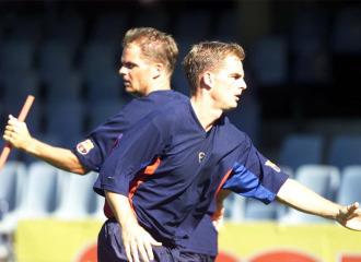 Los hermanos De Boer, en su etapa como jugadores barcelonistas