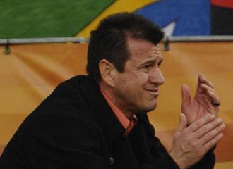 Dunga durante el partido contra Holanda