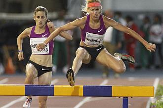 Marta Dom�nguez, en el VI Meeting Iberoamericano de Atletismo celebrado en Huelva