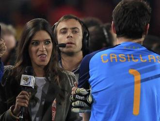Sara Carbonero entrevista a Casillas