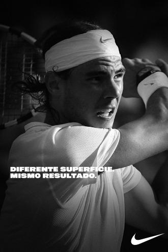 Imagen de Nike de Rafa Nadal.