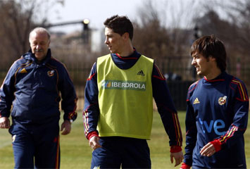 Del Bosque, Torres y Silva