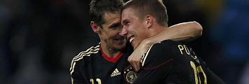 Podolski y Klose