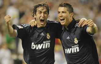 Ra�l pudo marcar en Zaragoza su �ltimo gol con el Madrid