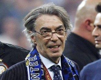 Massimo Moratti, presidente del Inter de Mil�n.