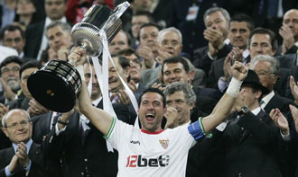 Palop ha saboreado el triunfo en Sevilla en varias ocasiones