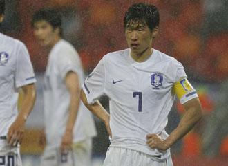 La estrella surcoreana, Park Ji Sung
