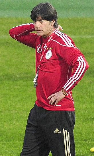 Joachim L�w, seleccionador alem�n.