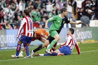 Geijo marc� un s�lo gol el a�o pasado con el Racing, ante el Sporting