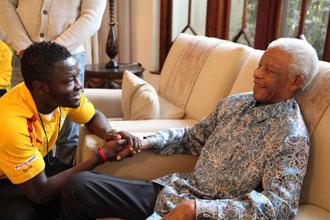 La presencia de Mandela en la final no est� confirmada
