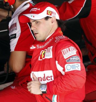 El piloto brasile�o Felipe Massa