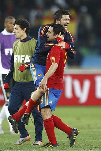 El 0-1 para España es el resultado más esperado.