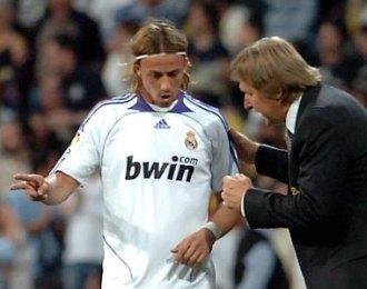 Bernd Schuster y Guti, en una imagen de 2008.