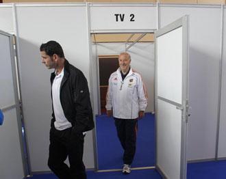 Hiero y Del Bosque andan detr�s de convencer a Puyol