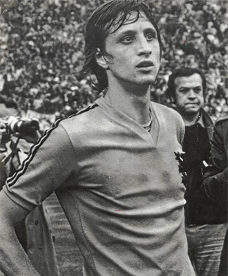 Johan Cruyff, la estrella de la 'Naranja Mec�nica'