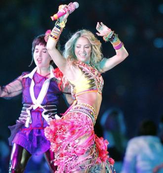Shakira, bailando