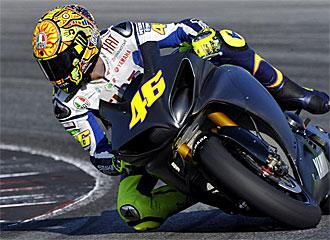 Rossi volver� a probar su estado f�sico en Brno