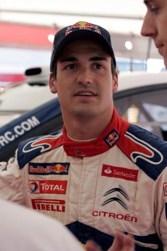 El piloto espa�ol Dani Sordo