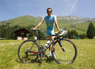 Contador, durante la jornada de descanso en el Tour de Francia
