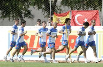 Feghouli ya entrena con sus nuevos compa�eros
