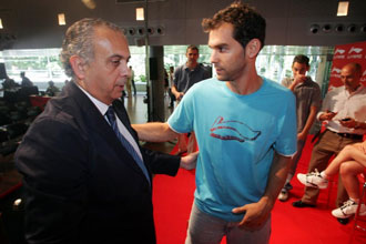 Calder�n habla con Jos� Luis S�ez