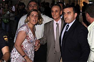 Manuel Ruiz de Lopera, a su salida de los juzgados