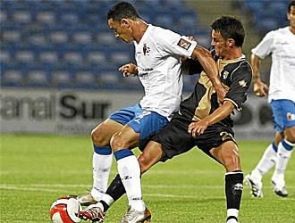 Cigarini, en un amistoso contra el Zaragoza