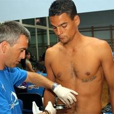 Valiente es uno de los futbolistas que ya ha pasado el reconocimiento m�dico
